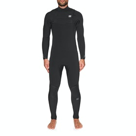 Billabong Furnace Ultra 5/4mm Chest Zip Wetsuit - Black