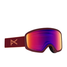 Anon Deringer Womens Snow Goggles - Ruby ~ Sonar Irblue