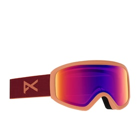 Anon Insight Sonar Womens Snow Goggles - Ruby ~ Sonar Irblue