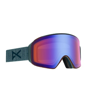 Anon M4 Cylindrical Snow Goggles - Lay Back ~ Sonar Blue