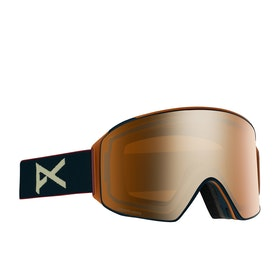 Anon M4 Cylindrical Snow Goggles - Royal ~ Sonar Bronze
