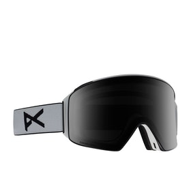 Anon M4 Cylindrical Snow Goggles - White ~ Sonar Smoke