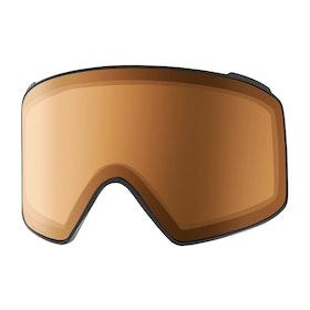 Ecrans de masque de ski Anon M4 Cyl Sonar Lens - Sonar Night