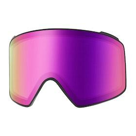 Ecrans de masque de ski Anon M4 Cyl Sonar Lens - Sonar Pink