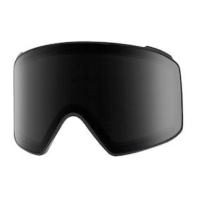 Ecrans de masque de ski Anon M4 Cyl Sonar Lens - Sonar Smoke
