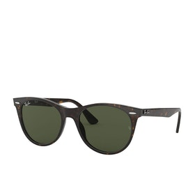 Ray-Ban Wayfarer II Sunglasses - Havana ~ Green