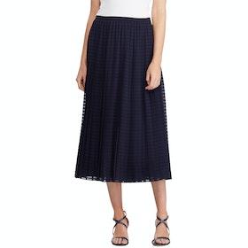 Lauren Ralph Lauren Bodil A Line Women's Skirt - Lauren Navy