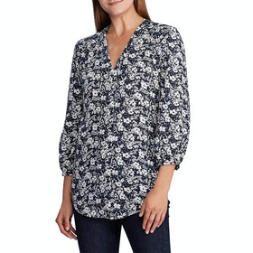 Lauren Ralph Lauren Fajola Shirt - Lauren Navy/cream