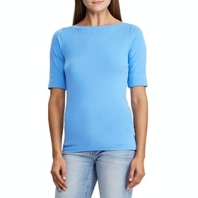 Lauren Ralph Lauren Judy Dames Top - Eos Blue