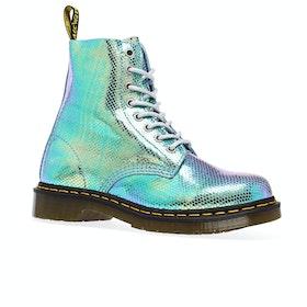 Dr Martens 1460 Pascal Iridescent Womens Boots - Blue Iridescent