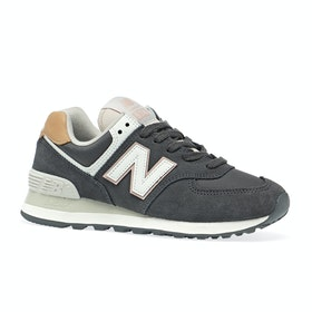 New Balance Wl574 Womens Running Shoes - Magnet