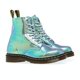 Dr Martens 1460 Pascal Iridescent Women's Boots - Blue Iridescent