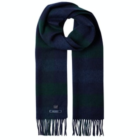 Joules Tytherton Scarf - Navy Green Check