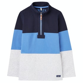 Joules Dale Boy's Sweater - Blue Multi