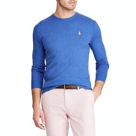 Maglione Polo Ralph Lauren Pima Cotton - Blue