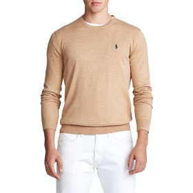 Sweter Polo Ralph Lauren Pima Cotton - Brown