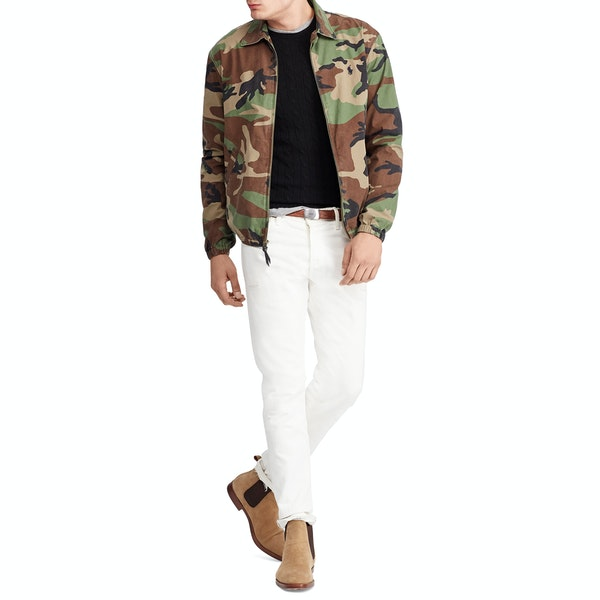 Polo Ralph Lauren Bayport Camo Windbreaker Jacket
