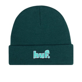 Bonnet Huf 1993 Logo - Botanical Green