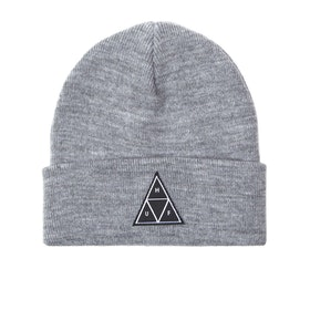 Bonnet Huf Triple Triangle Cuff - Grey Heather