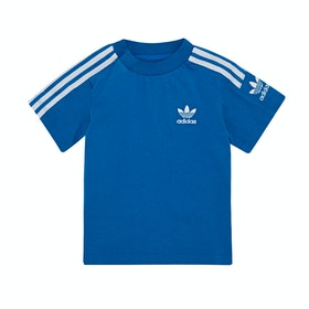 Adidas Originals New Icon Kids Short Sleeve T-Shirt - Bluebird