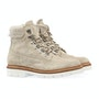 Stone Suede Shearling