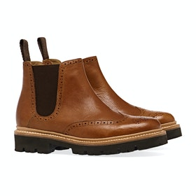 Buty Damski Grenson Allie - Snuff Rugged Grain