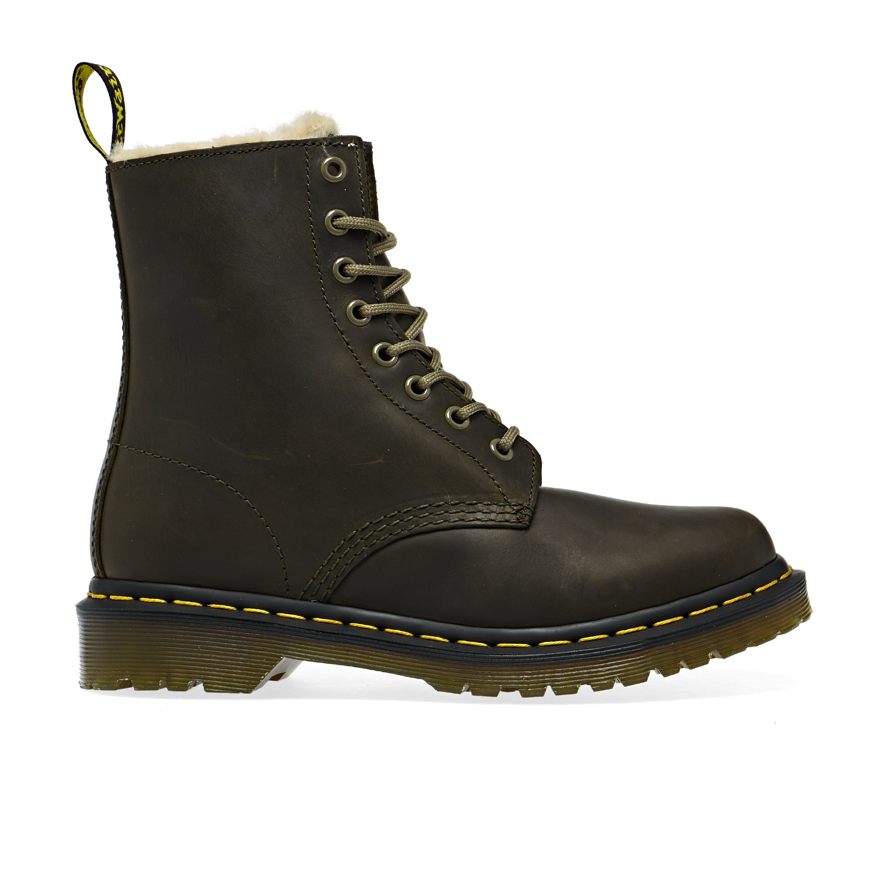 Dr Martens 1460 Serena Dms Stiefel Olive Wyoming | Country