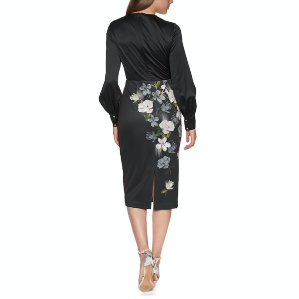 Ted Baker Alithea Opal Off Shoulder Midi Damski Sukienka
