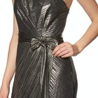 Ted Baker Gabria One Shoulder Drape Midi Женщины Платье