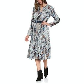 Ted Baker Lilis Quartz Printed Midi Women's Dress - Ivory