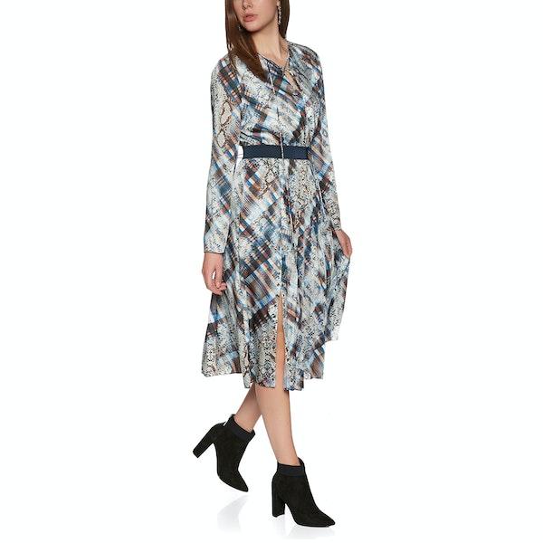 Ted Baker Lilis Quartz Printed Midi Women's Dress