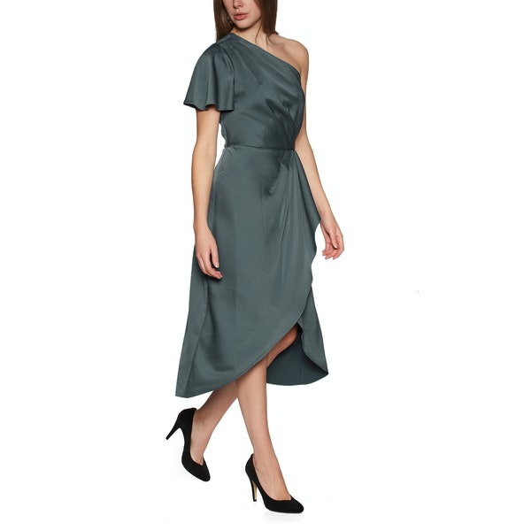 Ted Baker Ridah Waterfall Skirt One Shoulder Women's Dress