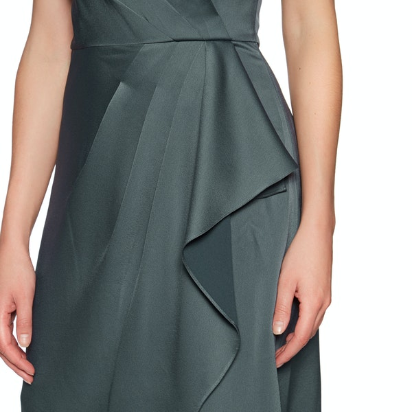 Abito Donna Ted Baker Ridah Waterfall Skirt One Shoulder