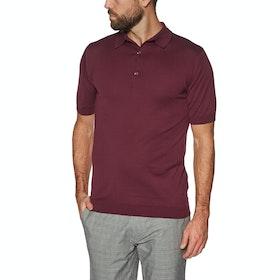 John Smedley Adrian Polo-Shirt - Bordeaux