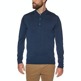 John Smedley Belper Polo-Shirt - Vantage Blue