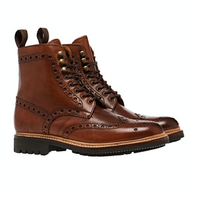 Botas Grenson Fred - Tan Commando Sole