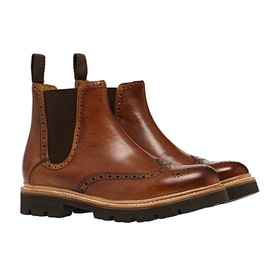 Bottes Grenson Arlo - Tan Hand Painted Calf