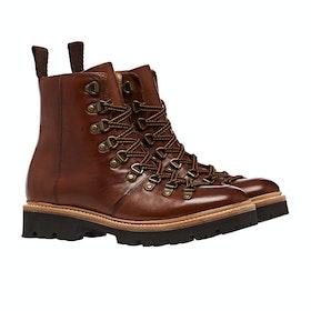 Grenson Nanette Handpainted Boots - Tan