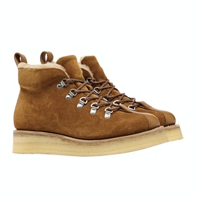 Grenson Bridget Ladies Boots - Rum Suede Calf