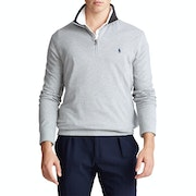 Polo Ralph Lauren Basic Mesh Quarter Zip Sweater