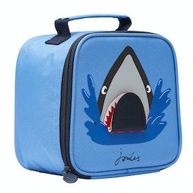 Joules Munch Boys Lunch Bag - Blue Shark