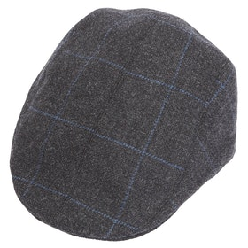 Czapka z daszkiem Christys Hats Frankie Tailored - Grey Blue