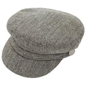 Cappello Donna Christys Hats Juventus Breton - Grey Herringbone