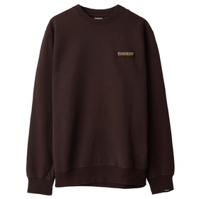 Napapijri Base C Pullover - Choco Brown