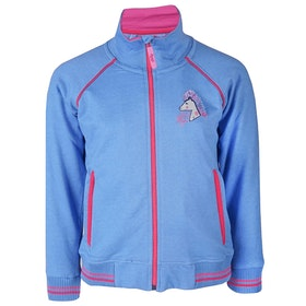Horka Kubo Girls Riding Jacket - Blue Ice