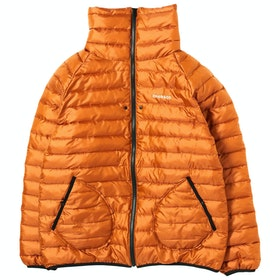 Chari & Co High Neck Puff Jacket - Orange