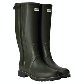 Hunter Balmoral Rubber Wellingtons - Dark Olive