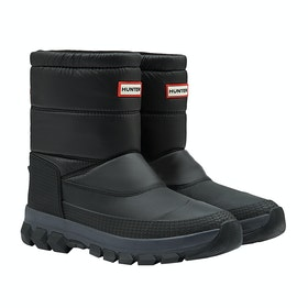 Hunter Original Insulated Snow Short Stiefel - Black