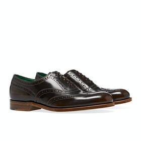Grenson Harrow Dress Shoes - Brown Fume Bookbinder