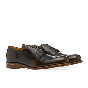 Grenson Roseberry Dress Shoes - Brown Fume Bookbinder